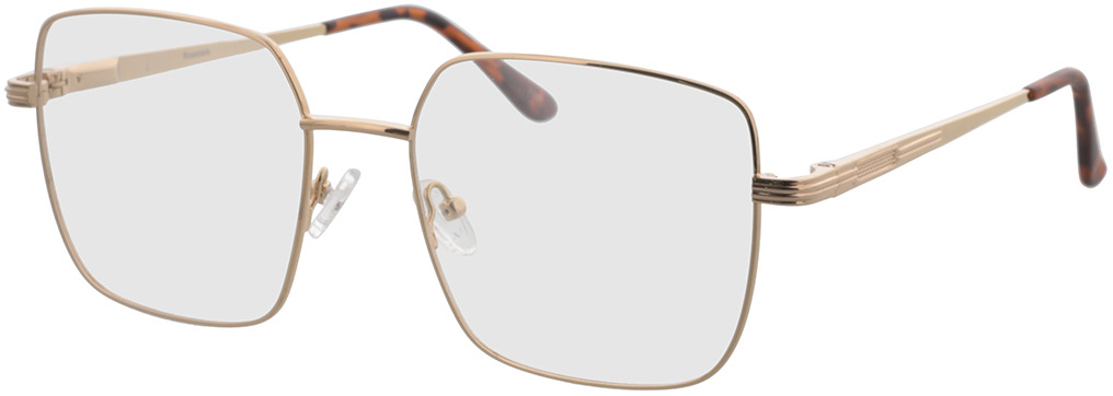 Picture of glasses model Rosedale-gold in angle 330