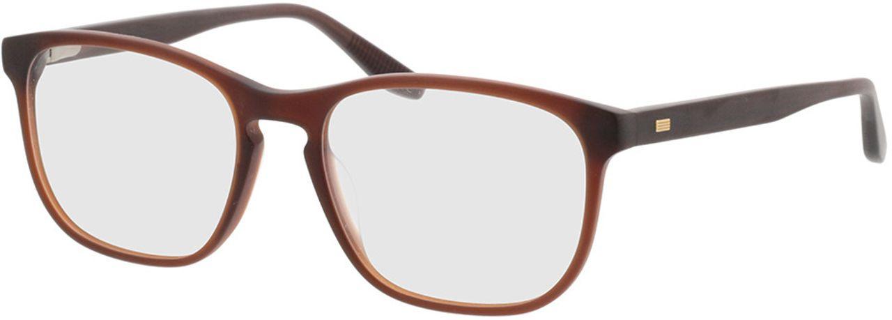 Picture of glasses model Pompeo-matt braun in angle 330