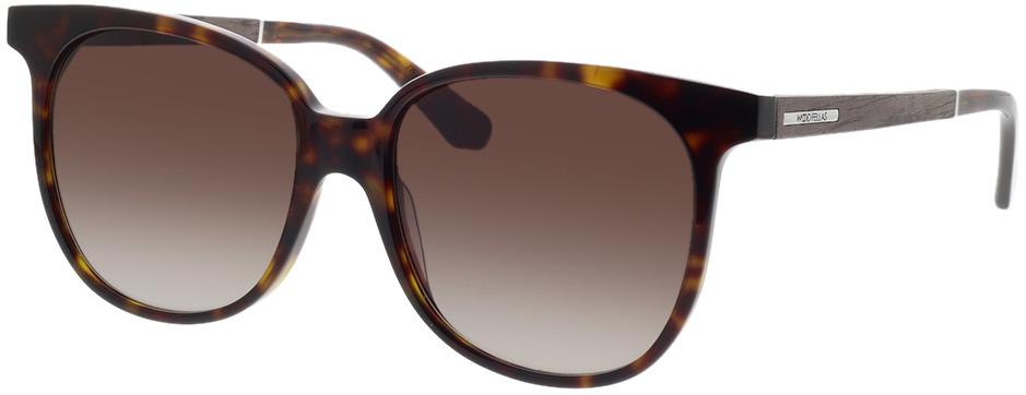 Picture of glasses model Wood Fellas Sunglasses Moyland zwart oak/havana 55-17 in angle 330