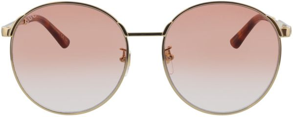 Picture of glasses model Gucci GG0206SK-004 58-17  in angle 0