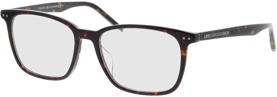 Picture of glasses model Tommy Hilfiger TH 1737/F 086 54-17 in angle 330