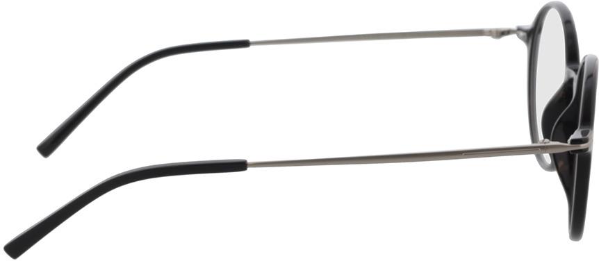Picture of glasses model Lojo-schwarz in angle 90