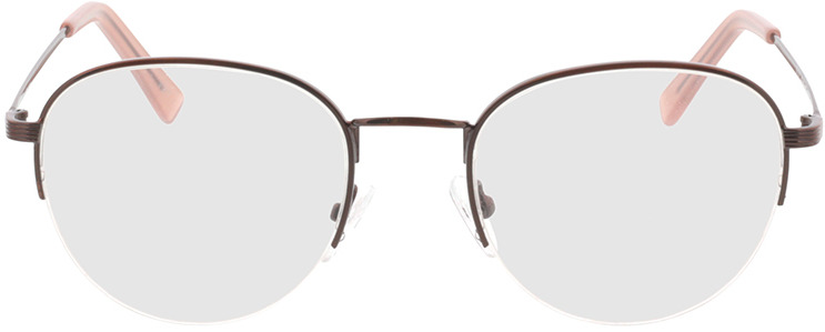 Picture of glasses model Zoe-braun in angle 0