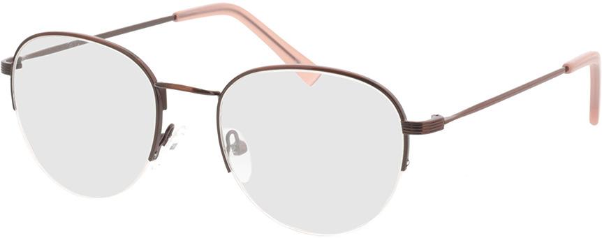 Picture of glasses model Zoe-braun in angle 330