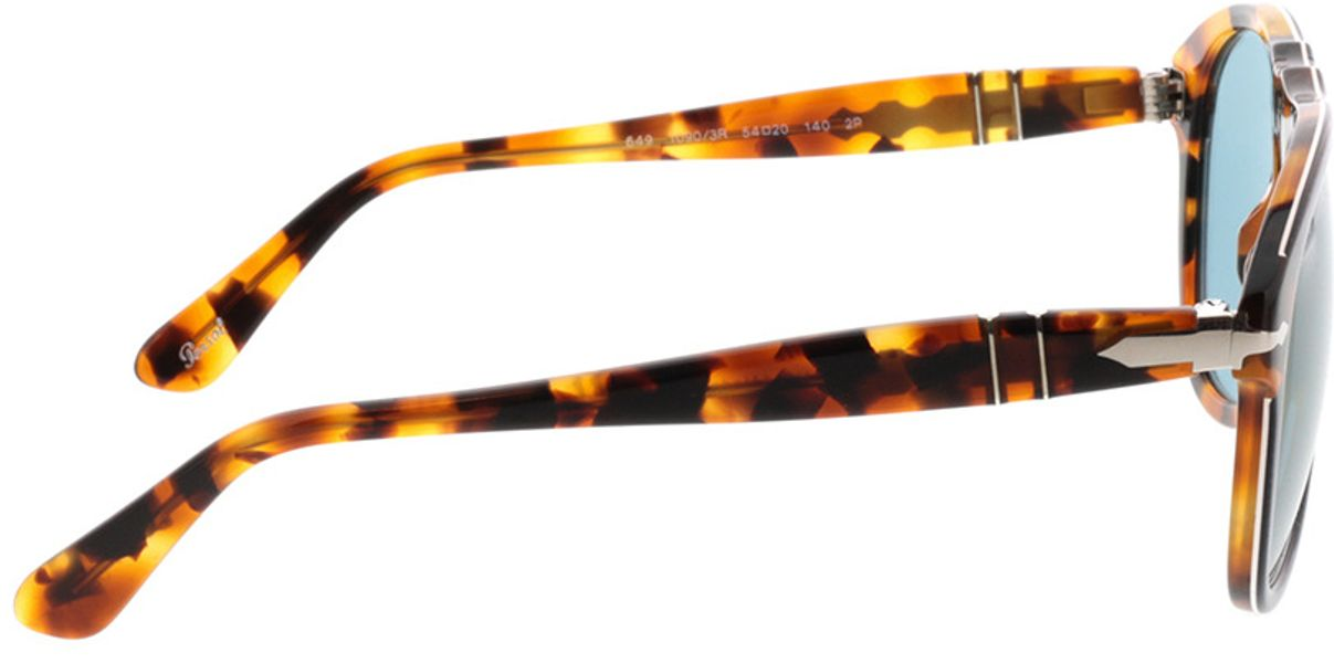 Picture of glasses model Persol PO0649 10903R 54-20 in angle 90