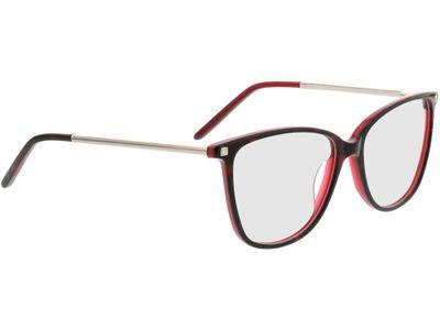 Brille Peoria-schwarz/lila/silber