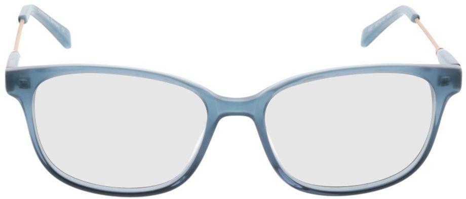 Picture of glasses model Comma70027 40 blau 53-16 in angle 0