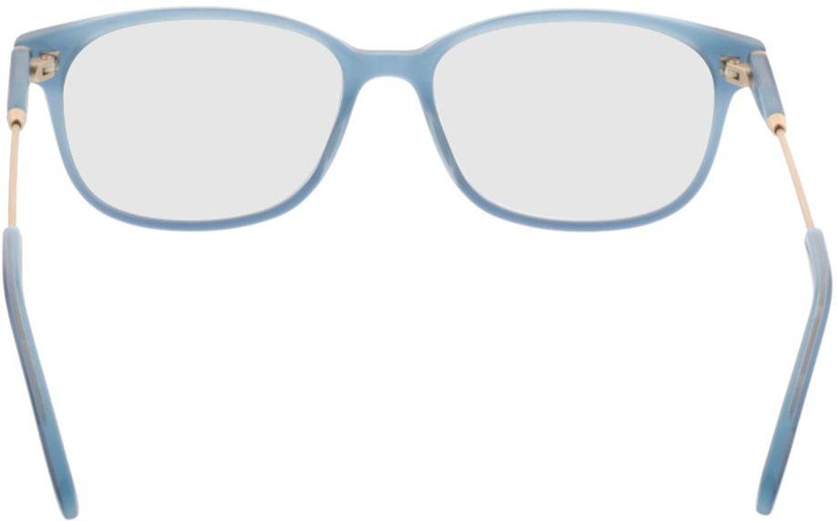 Picture of glasses model Comma70027 40 blau 53-16 in angle 180