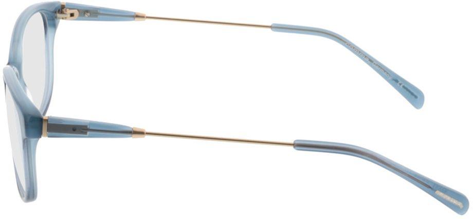 Picture of glasses model Comma70027 40 blau 53-16 in angle 270