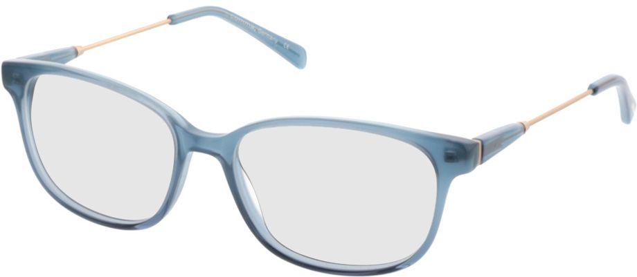 Picture of glasses model Comma70027 40 blau 53-16 in angle 330