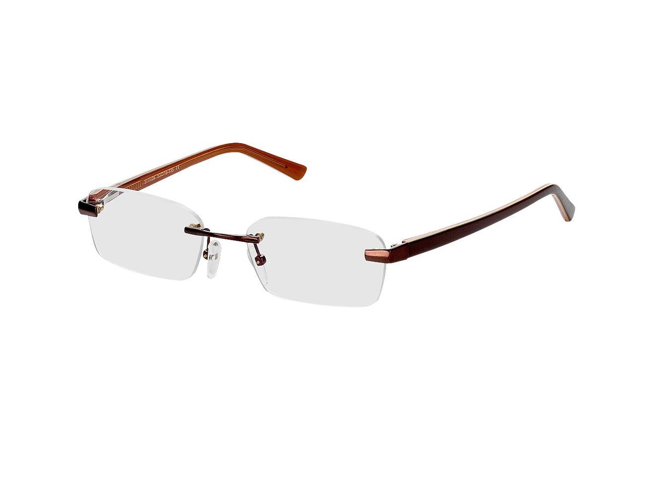 4854-singlevision-0000 Bristol-braun Gleitsichtbrille, Randlos, Dünn Brille24 Collection
