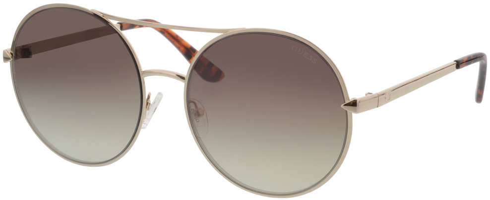 Picture of glasses model Guess GU7559 32G 60-18 in angle 330