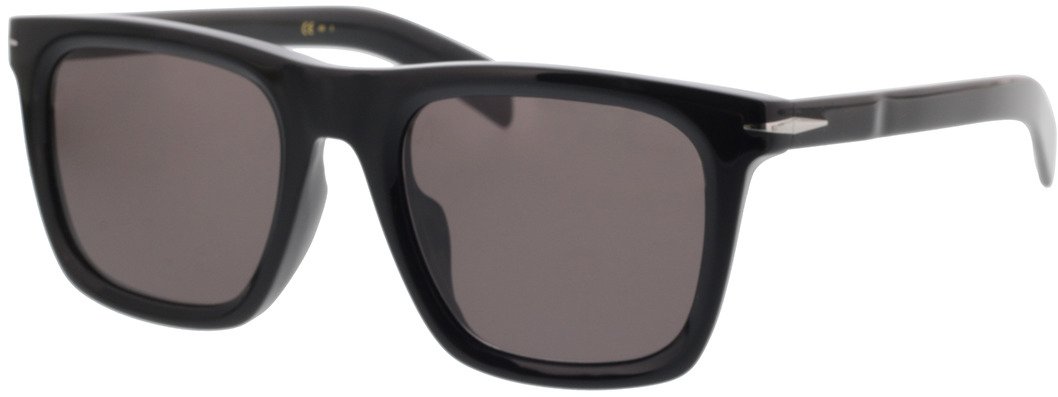Picture of glasses model David Beckham DB 7066/F/S 807 53-21 in angle 330