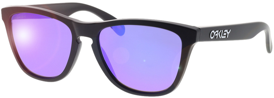 Picture of glasses model Oakley Frogskins OO9013 H6 55-17 in angle 330