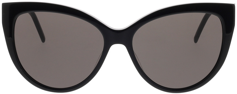 Picture of glasses model Saint Laurent SL M48S_A-001 56-16 in angle 0