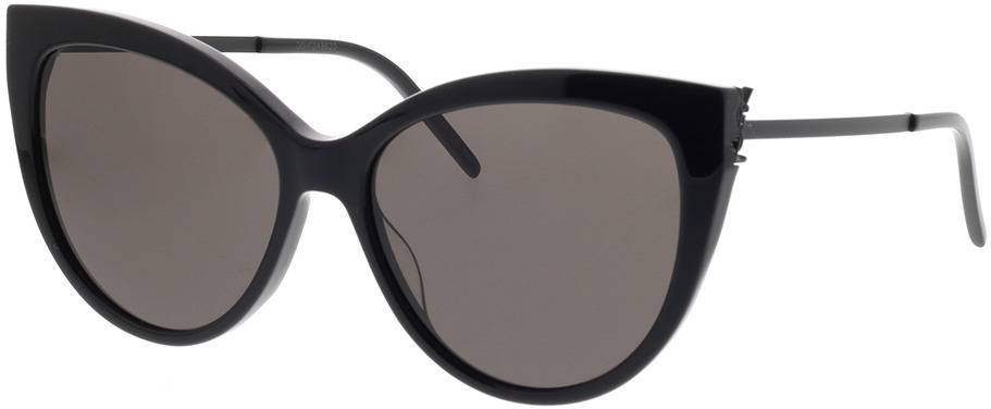 Picture of glasses model Saint Laurent SL M48S_A-001 56-16 in angle 330