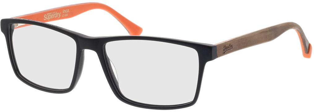Picture of glasses model Superdry SDO Inca 104 black 56-16 in angle 330