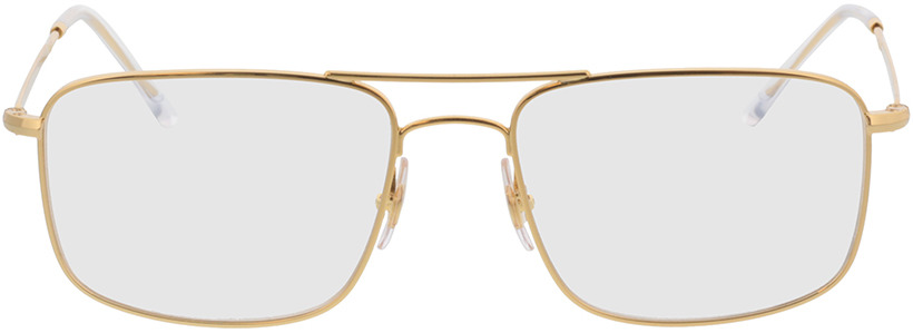 Picture of glasses model Ray-Ban RX6434 2500 55-18 in angle 0