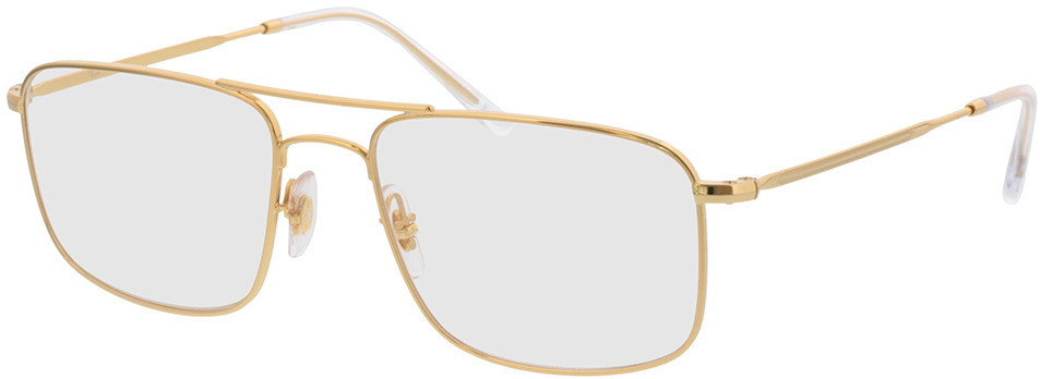 Picture of glasses model Ray-Ban RX6434 2500 55-18 in angle 330
