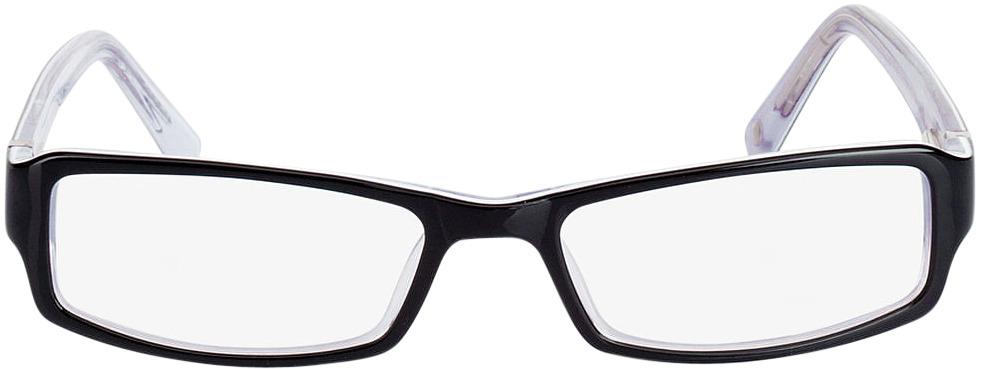 Picture of glasses model Pedro-schwarz in angle 0