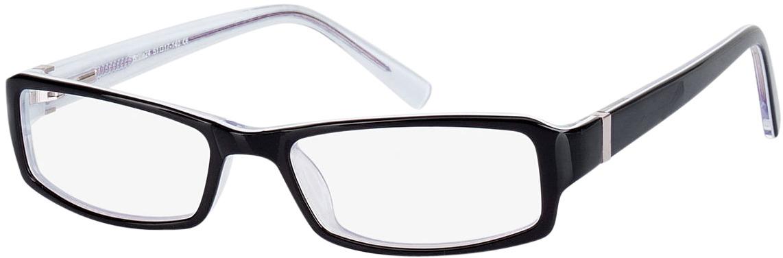 Picture of glasses model Pedro-schwarz in angle 330