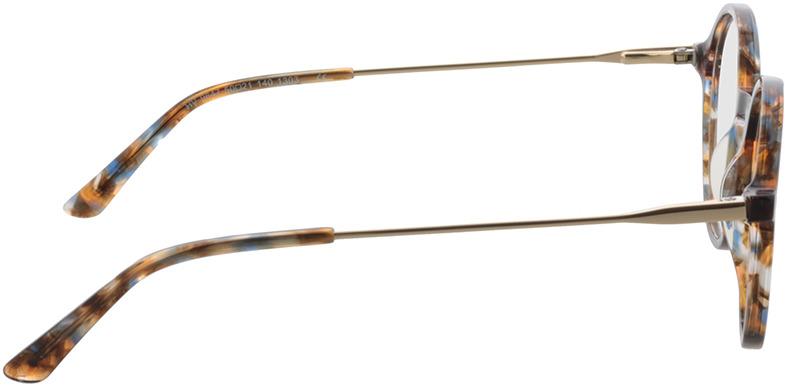 Picture of glasses model Spring bruin-gevlekt/Goud in angle 90