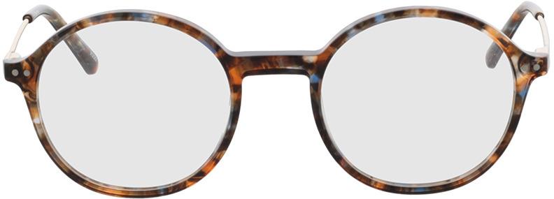 Picture of glasses model Spring bruin-gevlekt/Goud in angle 0
