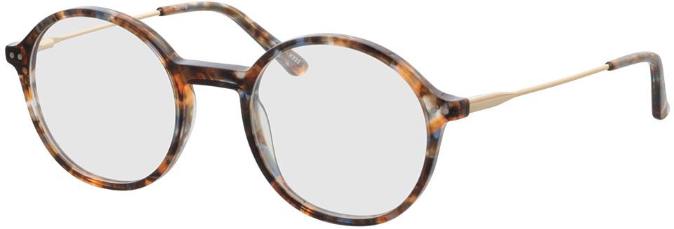 Picture of glasses model Spring bruin-gevlekt/Goud in angle 330