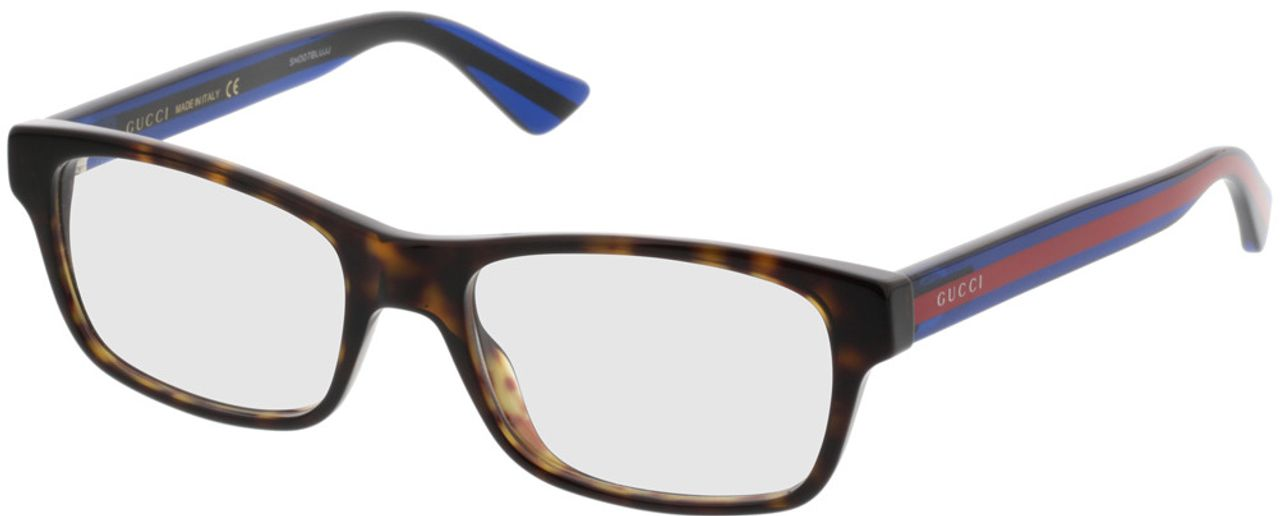 Picture of glasses model Gucci GG0006O-003 53-18 in angle 330