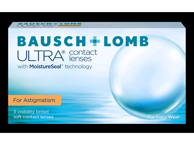 Bausch + Lomb ULTRA ® for Astigmatism 3er Box