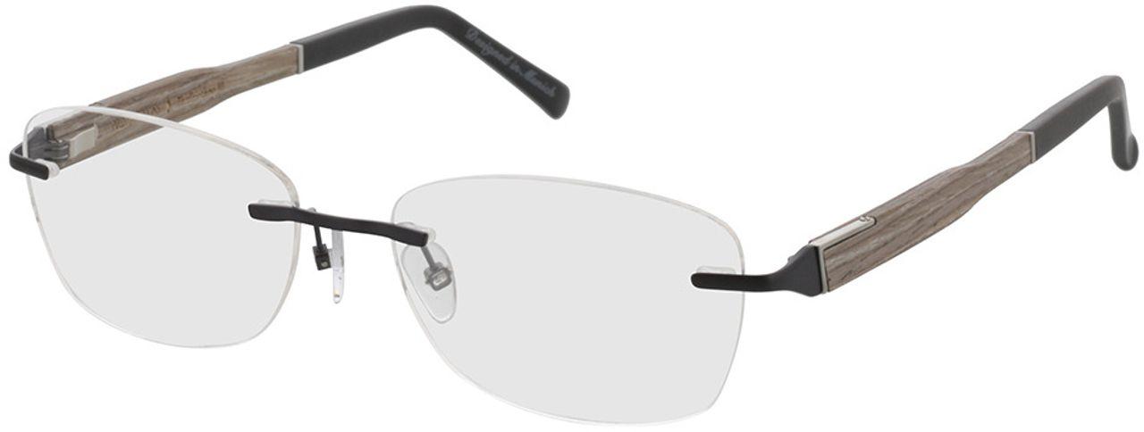 Picture of glasses model Wood Fellas Optical Thalkirchen III chalk oak 54-16 in angle 330