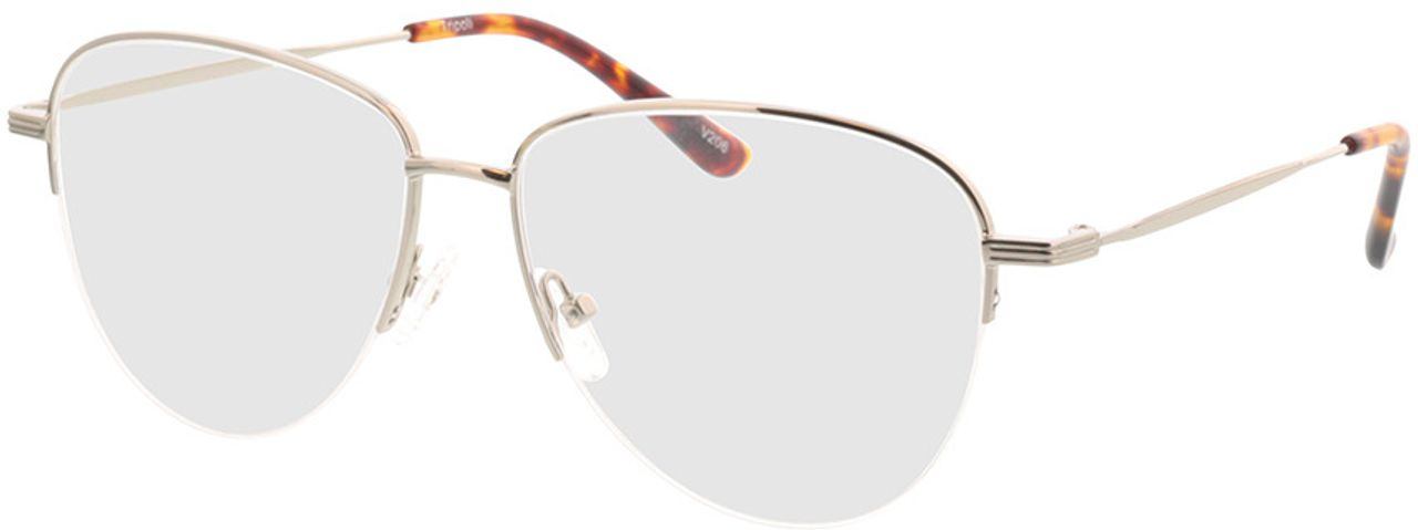 Picture of glasses model Tripoli-silber in angle 330