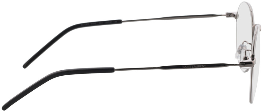 Picture of glasses model Saint Laurent SL 414/K WIRE-004 50-21 in angle 90