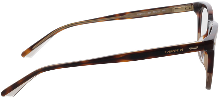 Picture of glasses model Calvin Klein CK21711 221 50-21 in angle 90