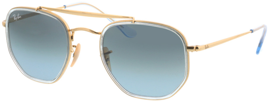 Picture of glasses model Ray-Ban RB3648M 91233M 52-23