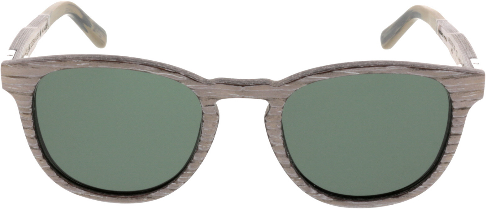 Picture of glasses model Wood Fellas Sunglasses Bogenhausen chalk oak 49-21 in angle 0