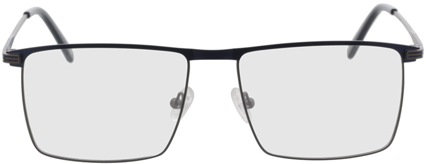 Picture of glasses model Peto-anthrazit/dunkelblau in angle 0