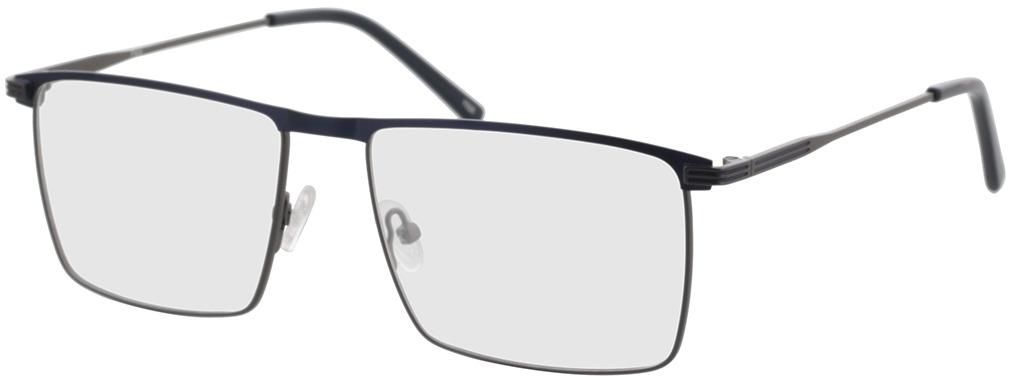 Picture of glasses model Peto-anthrazit/dunkelblau in angle 330