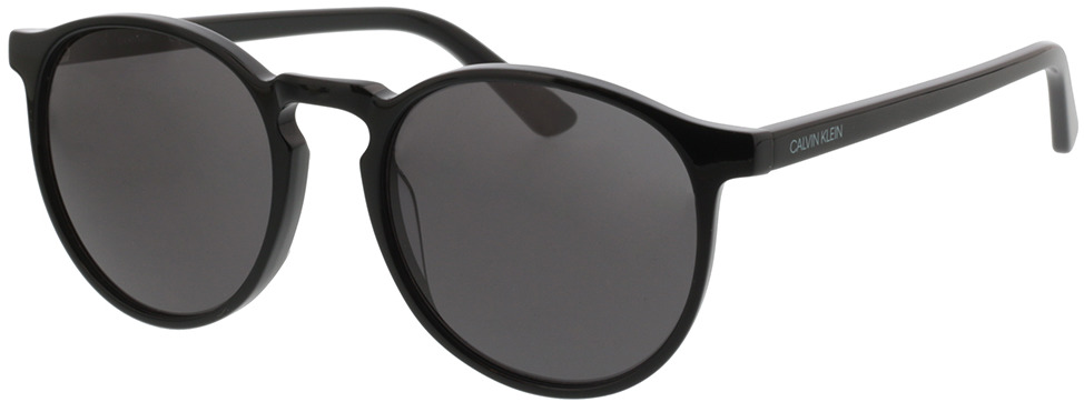 Picture of glasses model Calvin Klein CK20502S 001 53-20 in angle 330