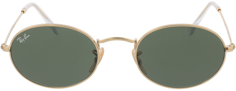 Picture of glasses model Ray-Ban Oval RB3547 001/31 51-21 in angle 0