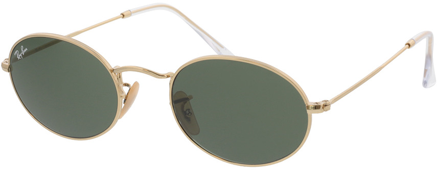 Picture of glasses model Ray-Ban Oval RB3547 001/31 51-21
