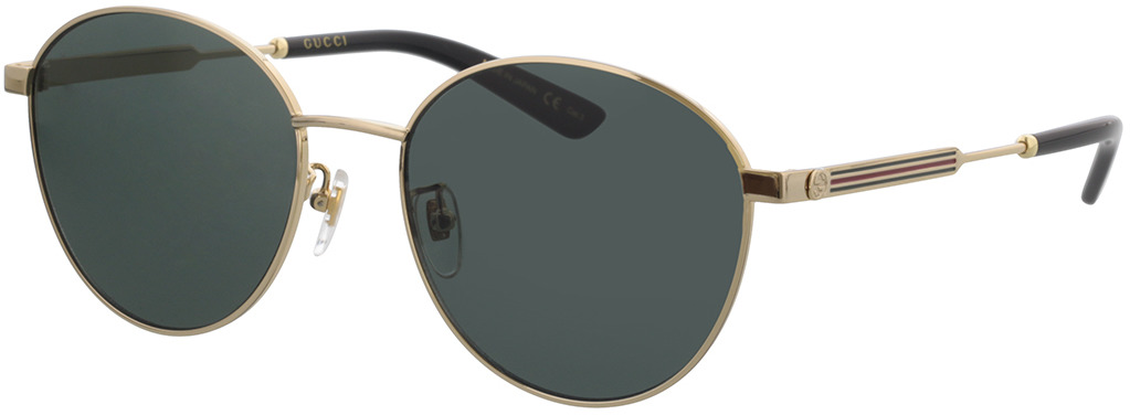 Picture of glasses model Gucci GG0853SK-001 58-19 in angle 330
