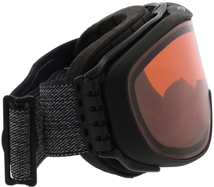 Picture of glasses model Alpina Skibril CHALLENGE 2.0 QH mat zwart in angle 90