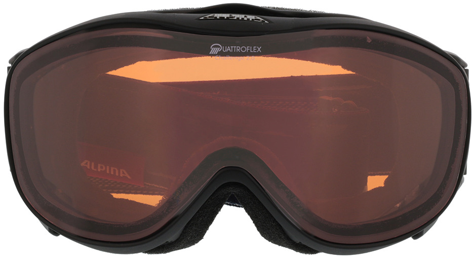 Picture of glasses model Alpina Skibril CHALLENGE 2.0 QH mat zwart in angle 0