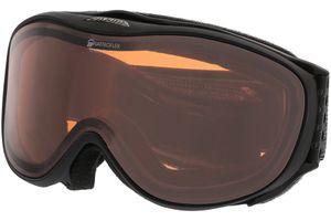 Skibrille CHALLENGE 2.0 QH black matt