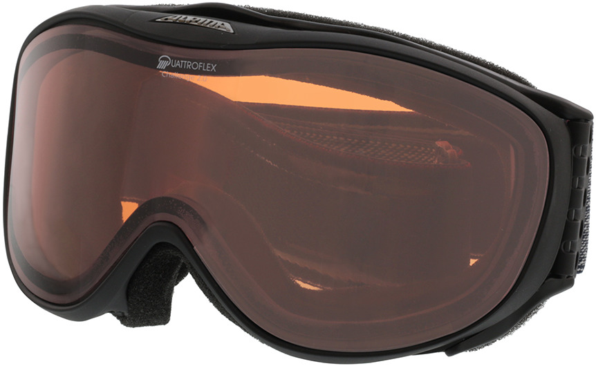 Picture of glasses model Alpina Skibril CHALLENGE 2.0 QH mat zwart in angle 330