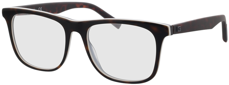 Picture of glasses model Guess GU50032 052 55-17 in angle 330