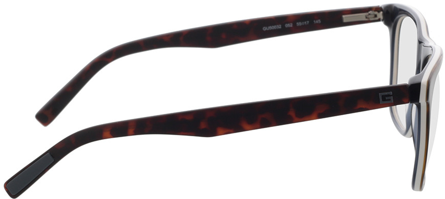 Picture of glasses model Guess GU50032 052 55-17 in angle 90