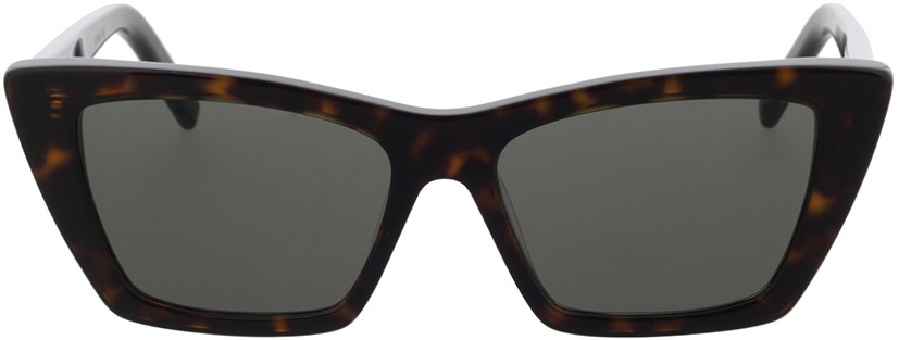 Picture of glasses model Saint Laurent SL 276 MICA-002 53-16 in angle 0