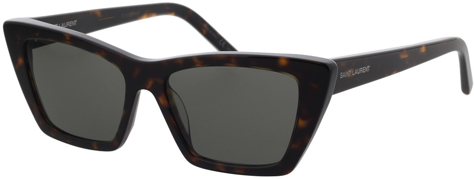 Picture of glasses model Saint Laurent SL 276 MICA-002 53-16 in angle 330